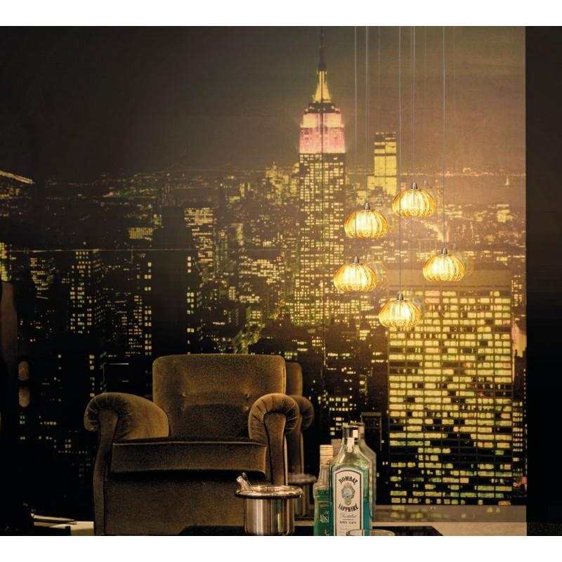 vistosi lampadari : Home > Lampadari moderni > Vistosi Diamante SP 5 G9 lampada moderna a ...
