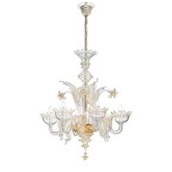 Rossini Meredith 2040-6 lampadario in vetro di Murano