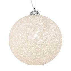 Ideal Lux Basket SP1 D40 sospensione moderna colore panna