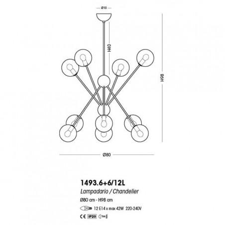 Cangini & Tucci Scarlett 1493.6+6/12L