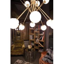 Cangini & Tucci Scarlett 1493.8+8/16L lampadario moderno E14 40W