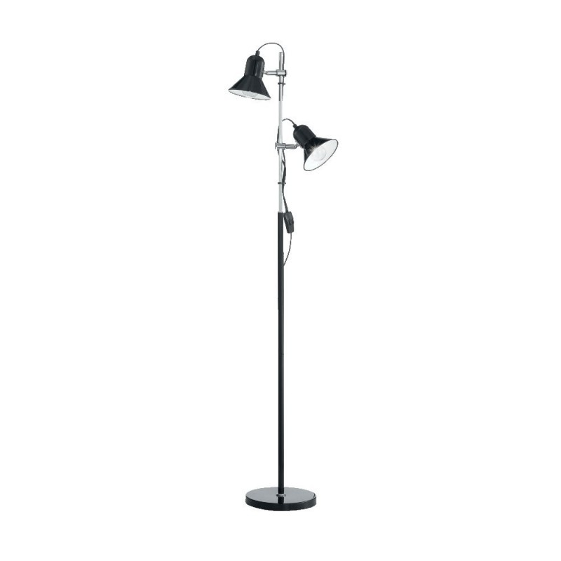 Ideal Lux Polly PT2 offerte piantane da terra, lumi da salotto, lampade da terra in offerta, piantana design economica
