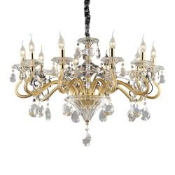 Ideal Lux Negresco SP10 lampadario classico soggiorno