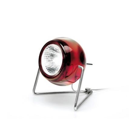 Fabbian Beluga Colour da tavolo rosso