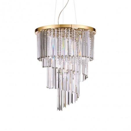 Ideal Lux Carlton SP12 lampadario classico cristallo