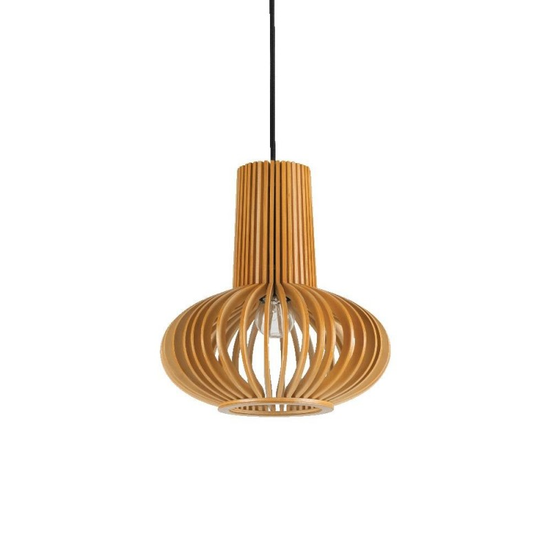 Ideal Lux Citrus-2 SP1 lampadario classico per cucina in legno E27 60W