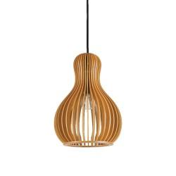 Ideal Lux Citrus-3 SP1 lampadario classico per cucina  in legno E27 60W