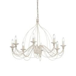 Ideal Lux Corte SP8 lampadario classico per salone a 8 luci E14 40W