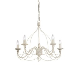 Ideal Lux Corte SP5 lampadario classico per salone a 5 luci E14 40W
