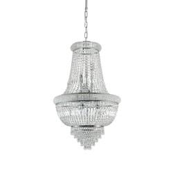 Ideal Lux Dubai SP10 lampadario classico cristallo a 10 luci E14 40W
