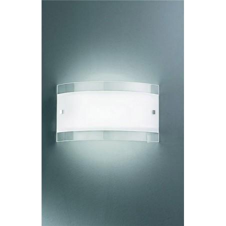 Rossini Mori A.8801 lampada da parete in vetro