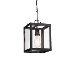 Ideal Lux Igor SP1 lampadario classico in metallo colore nero opaco E27 60W