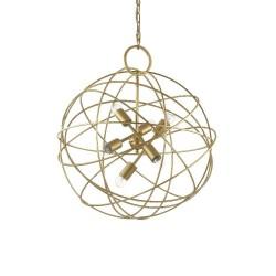 Ideal Lux Konse SP6 lampadario moderno per soggiorno E27 60W