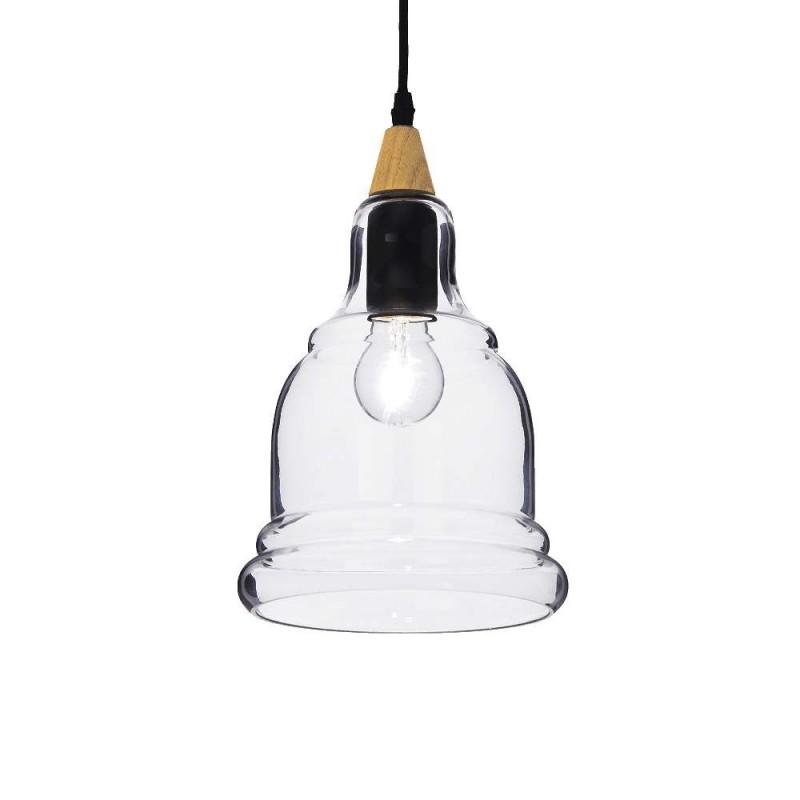 Ideal Lux Gretel SP1 lampadario classico in vetro E27 60W