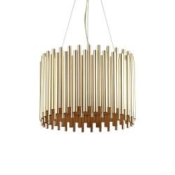 Ideal Lux Pan SP5 lampadario da salotto classico E27 60W