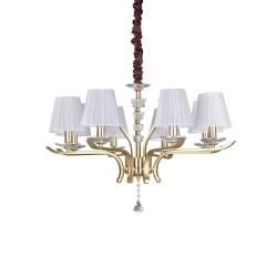Ideal Lux Pegaso SP8 lampadario a sospensione classico