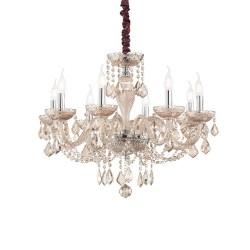 Ideal Lux Rose SP8 lampadario classico per soggiorno E14 40W
