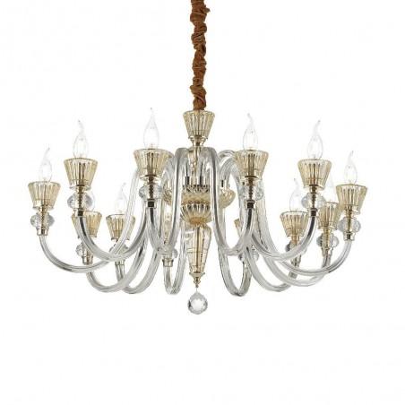 Ideal Lux Strauss SP12 lampadario classico di lusso E14 40W