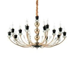 Ideal Lux Vanity SP15 lampadario classico per sala da pranzo E14 40W
