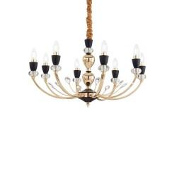 Ideal Lux Vanity  SP8 lampadario classico per sala da pranzo E14 40W