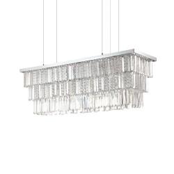 Ideal Lux Martinez SP8 lampadario classico per salone E14 40W