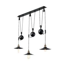 Ideal Lux Up and Down SP3 lampadario classico per cucina E27 60W