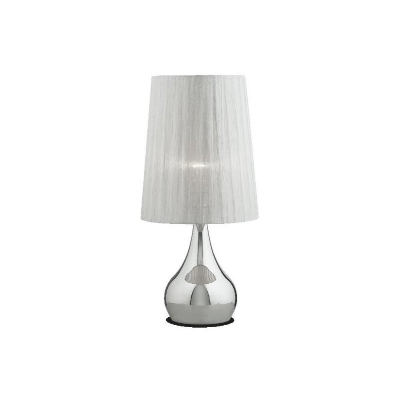 Ideal Lux Eternity TL1 Big lampada da tavolo classica con finitura cromo E27 60W