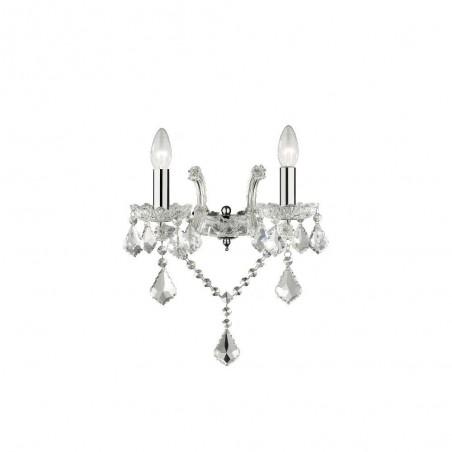 Ideal Lux Florian AP2 lampada da parete classica