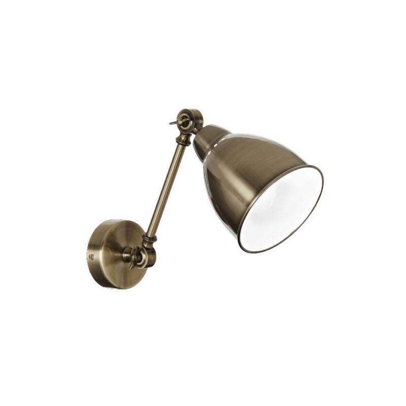 Ideal Lux Newton AP1 lampada da parete classica in metallo E27 60W