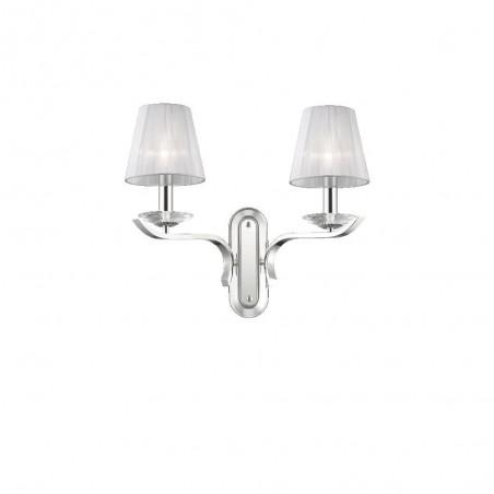 Ideal Lux Pegaso AP2 lampada da parete classica per corridoio E14 40W