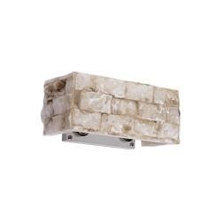 Ideal Lux Carrara AP2 lampada da parete classica in alabastro