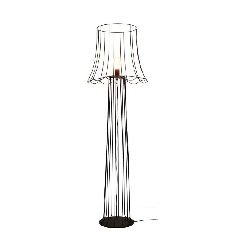 Karman Lucilla H6051VN  lampada da terra in metallo ruggine