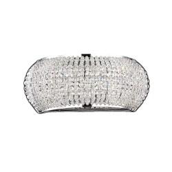 Ideal Lux Pashà AP3 applique da parete in cristallo molato G9