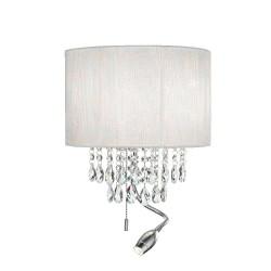Ideal Lux Opera AP3 lampada da parete classica Led con paralume e braccio flessibile