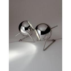 Fabbian Beluga Steel da tavolo