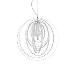 Ideal Lux Disco SP1lampadario sala moderno  con elementi decorativi circolari rotanti E27 60W