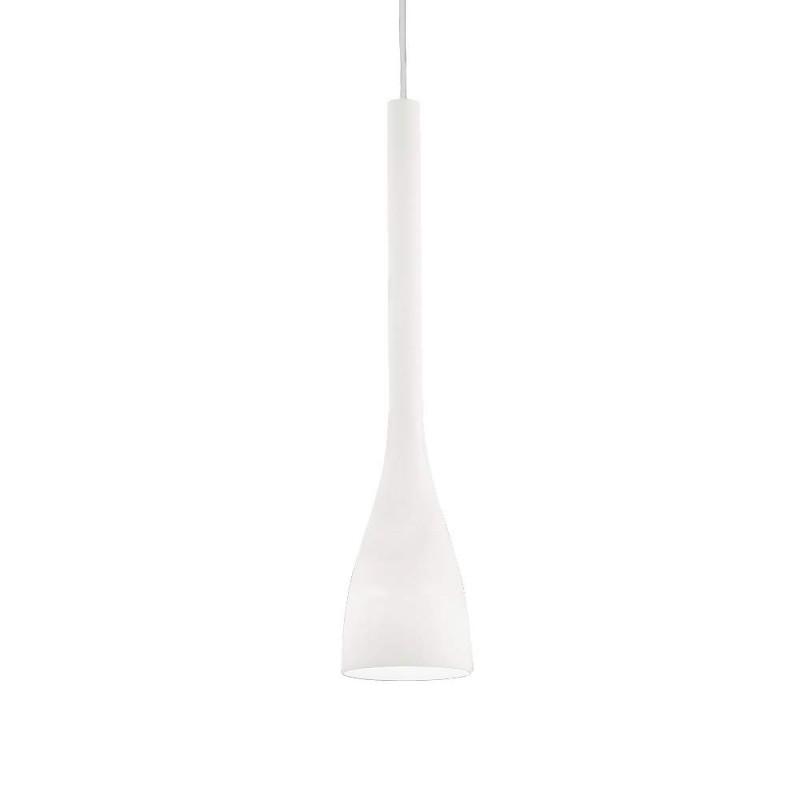 Ideal Lux Flut SP1 Big lampadario moderno in vetro soffiato e acidato E27 60W