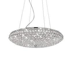 Ideal Lux King SP12 lampadario salotto moderno G9
