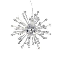Ideal Lux Pauline SP8 lampadario moderno in vetro soffiato G9