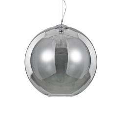 Ideal Lux Nemo SP1 D50 lampadario a sospensione in vetro soffiato colore fumè E27 60W
