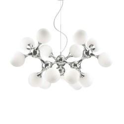 Ideal Lux Nodi SP15 lampadario design moderno per soggiorno E14  40W