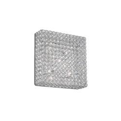 Ideal Lux Admiral PL6 plafoniera moderna soggiorno in cristallo molato G9