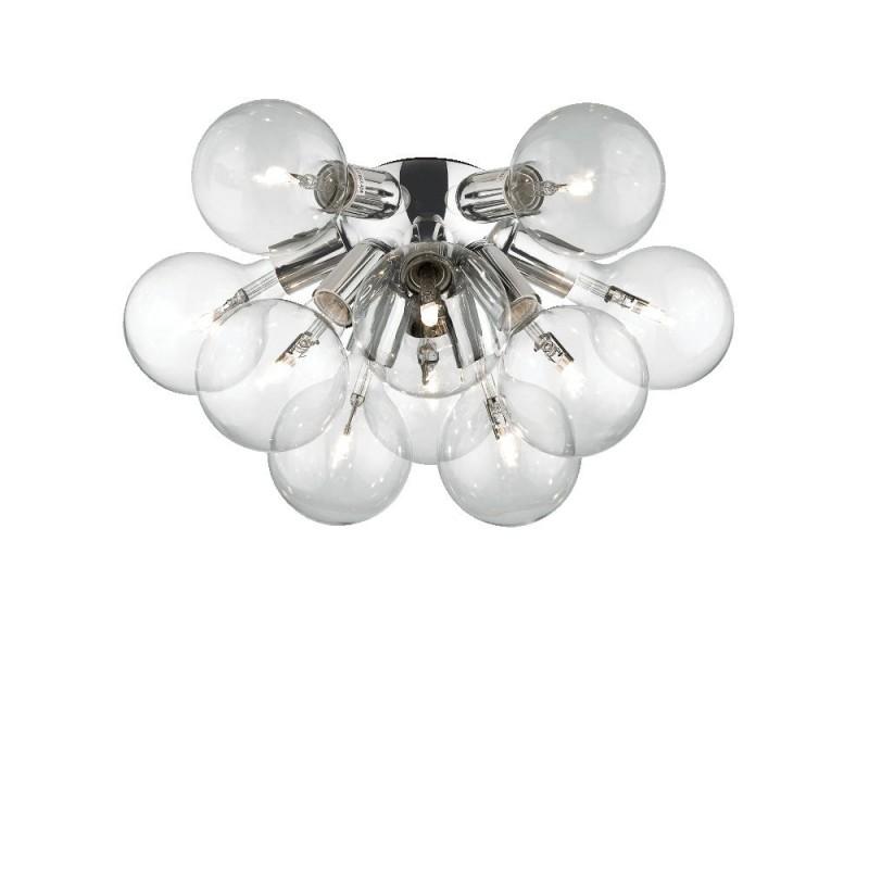 Ideal Lux Dea PL10 plafoniera a led per soffitto in metallo cromato