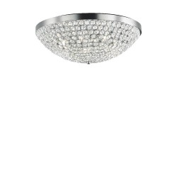 Ideal Lux Orion PL12 plafoniera moderna in cristallo G9