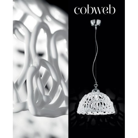 Novaresi Cobweb - Lampadari moderni bianchi