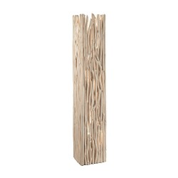 Ideal Lux Driftwood PT2 luce da terra in legno naturale E27 60W