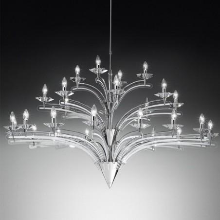 Icaro 28 luci Metallux lampadario classico