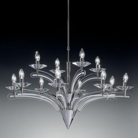 Icaro 12 luci Metallux lampadario classico