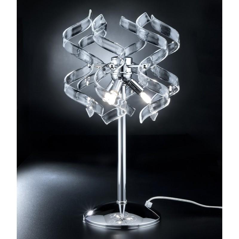 Astro 205.123 Metallux cristallo coppia lampade comodino