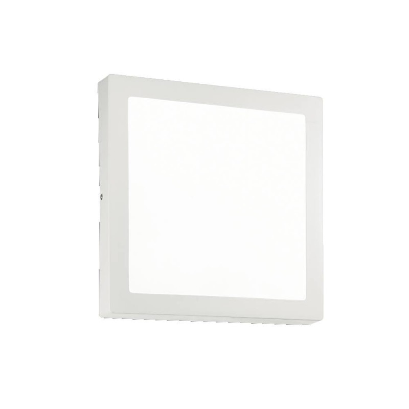 Ideal Lux Universal D22 Square applique plafoniera led quadrata bianca